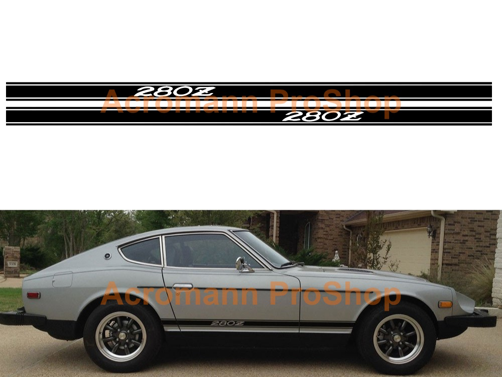 Datsun Fairlady 280Z Side Stripe Door Decal (Style#2) x 1 pair